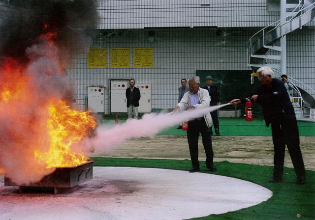 20秒で消火
