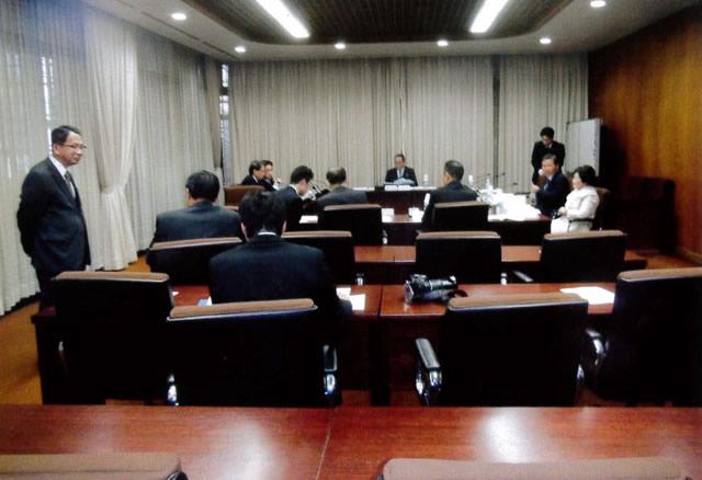 21日に開かれた審議会