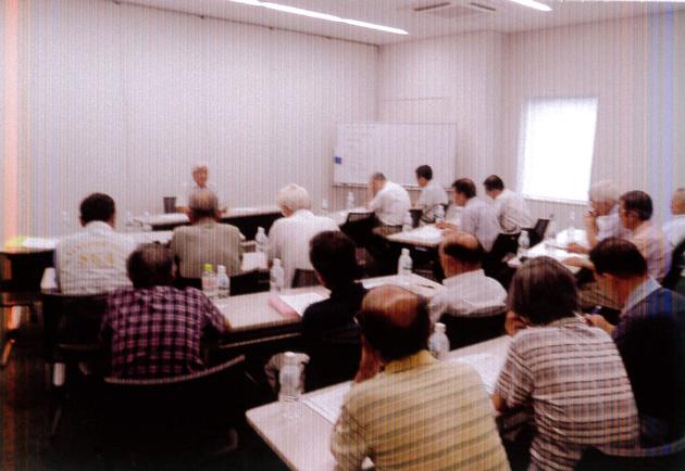 2回目の研修会 地区自主防災会の会長20名出席