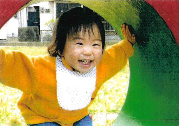 笑顔部門「あふれる笑顔賞」 「公園デビューで ばぁ~☆」