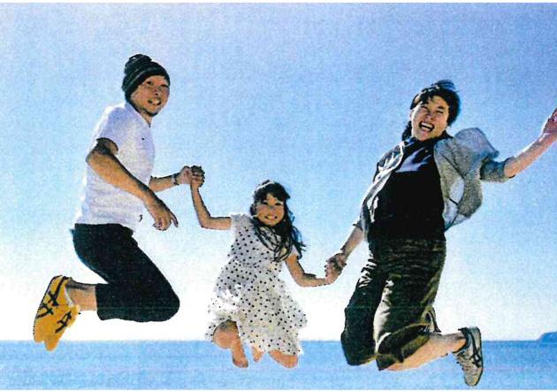 親子部門「親子の絆賞」 「ジャンプ!」
