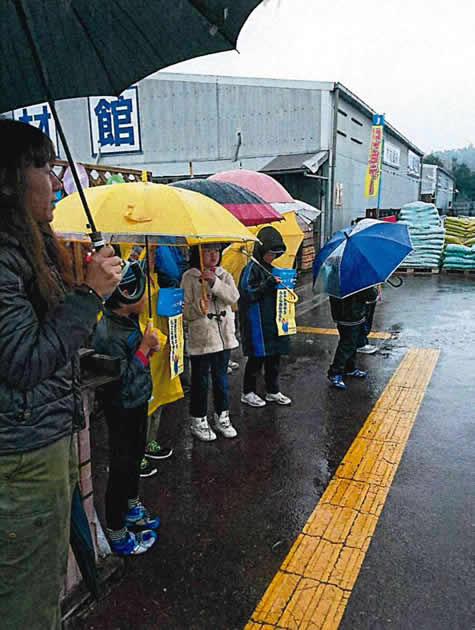 小雨で肌寒い一日でした
