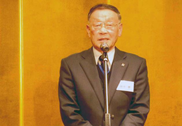開会挨拶 田中会長