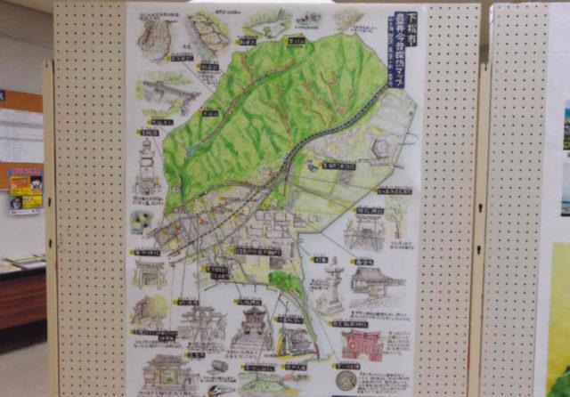 下松市豊井今昔探訪マップ