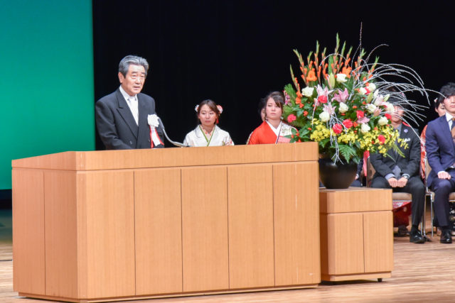 下松市国井市長の式辞