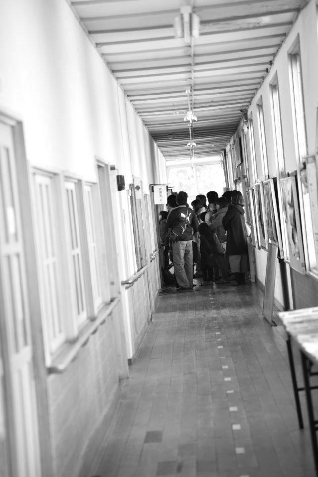 公民館の廊下