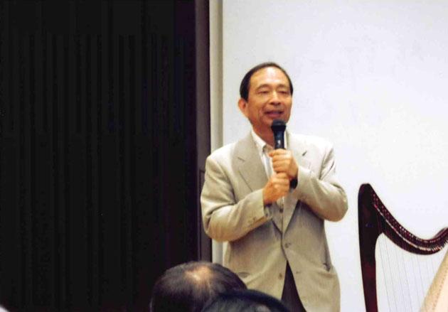 総評される山大名誉教授の林伸一氏