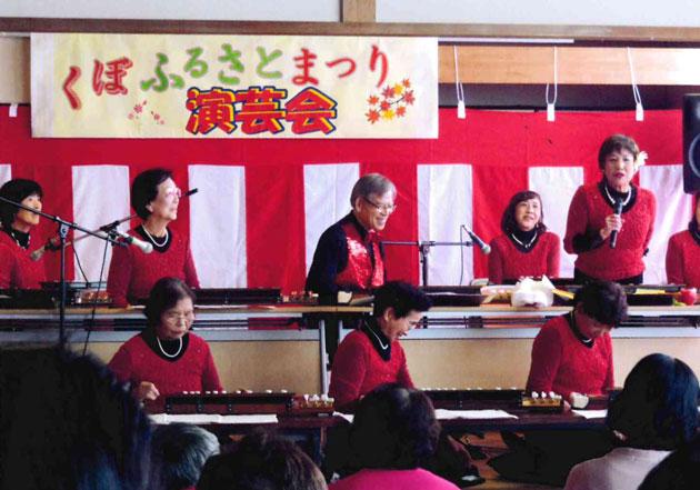 大正琴の発表会