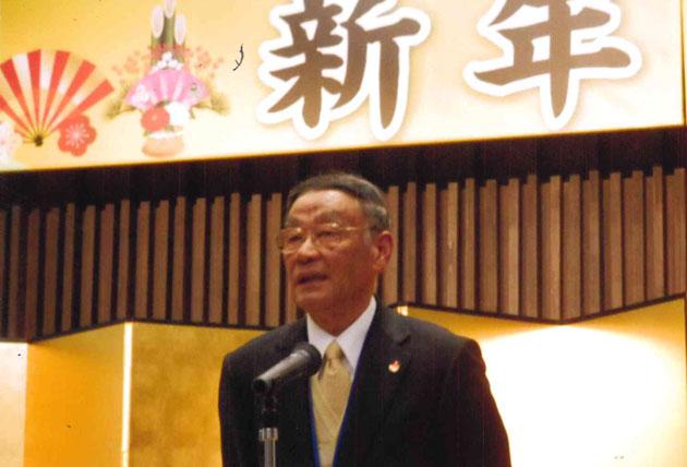 主催者代表の田中豊さん