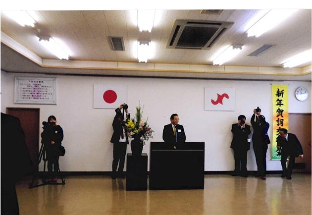 守田県議 カンパイ