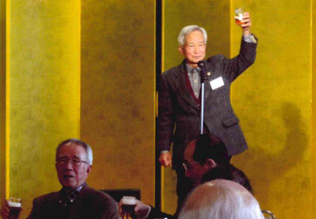 副会長 糀谷氏の乾杯