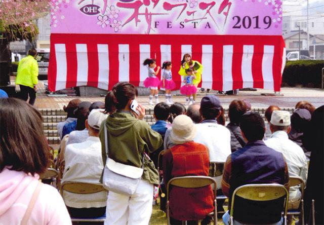 孫の舞台に老人がいっぱい