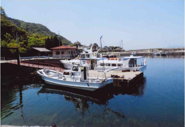 八島の桟橋