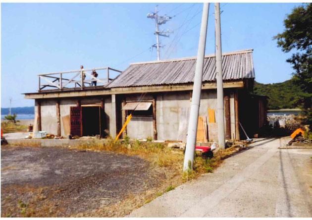 塩作業小屋