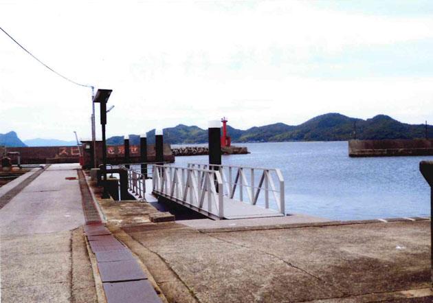 佐賀漁港 桟橋