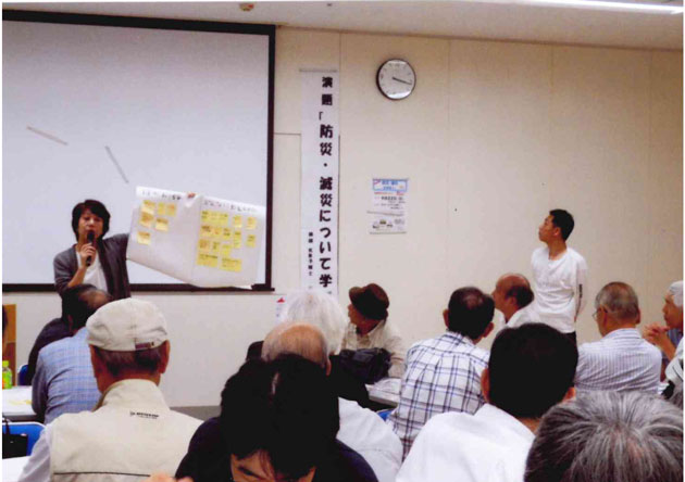 坂本講師の説明