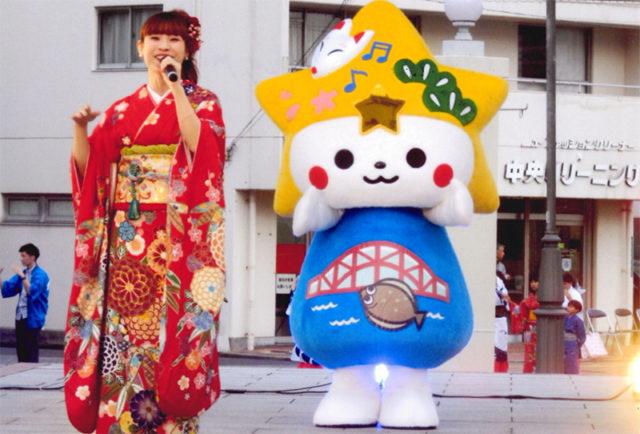 下松市観光大使のMIKKOさん