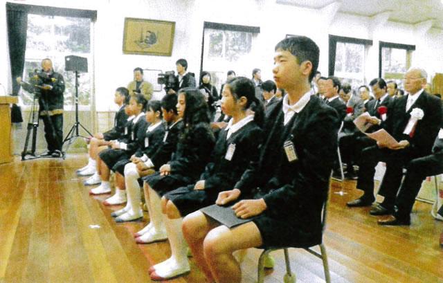 江の浦小学校 8名の在校生
