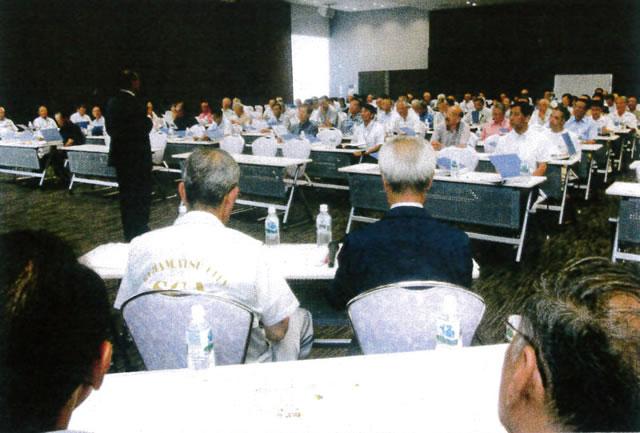 サルビアホール満員の自治会長研修会