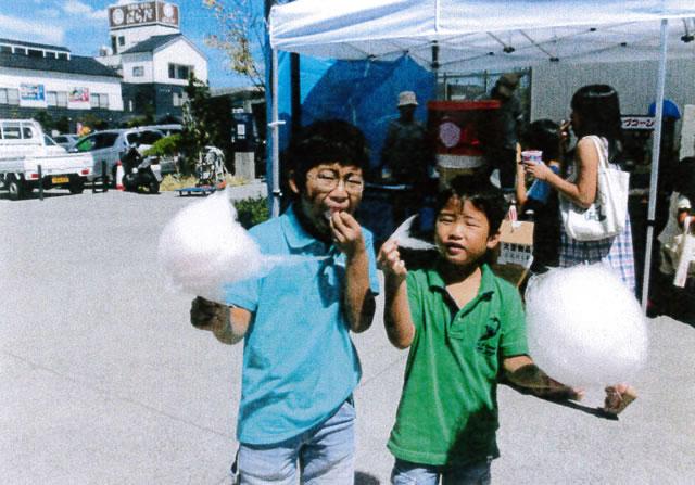 綿菓子100円