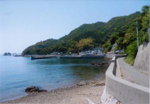 島内の道路