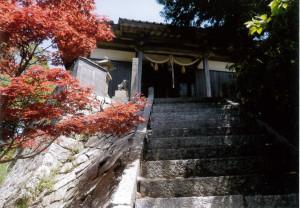 水軍の見張所、砦のような情島神社