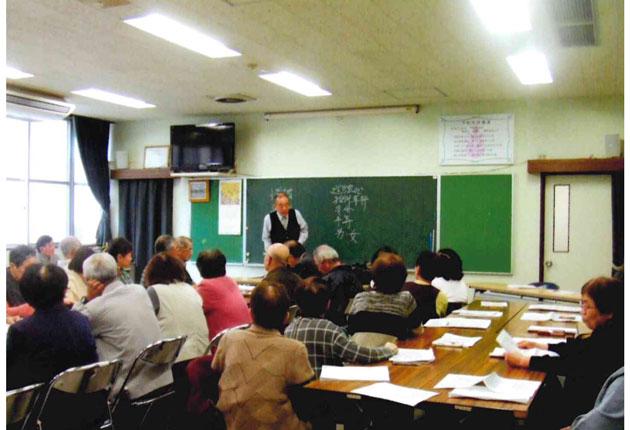 講師の楽しい講話