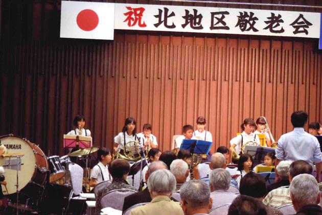 下松小学校生の吹奏楽