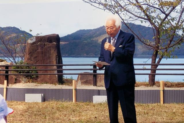 観光協会の弘中会長